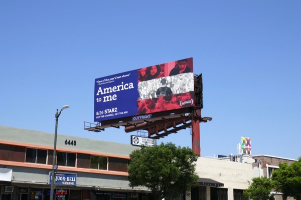 America to Me Starz billboard