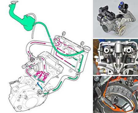 mesin Honda Sonic 150R