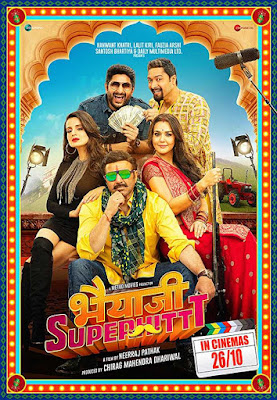 poster Bhaiaji Superhit 2018 Hindi HD 720p