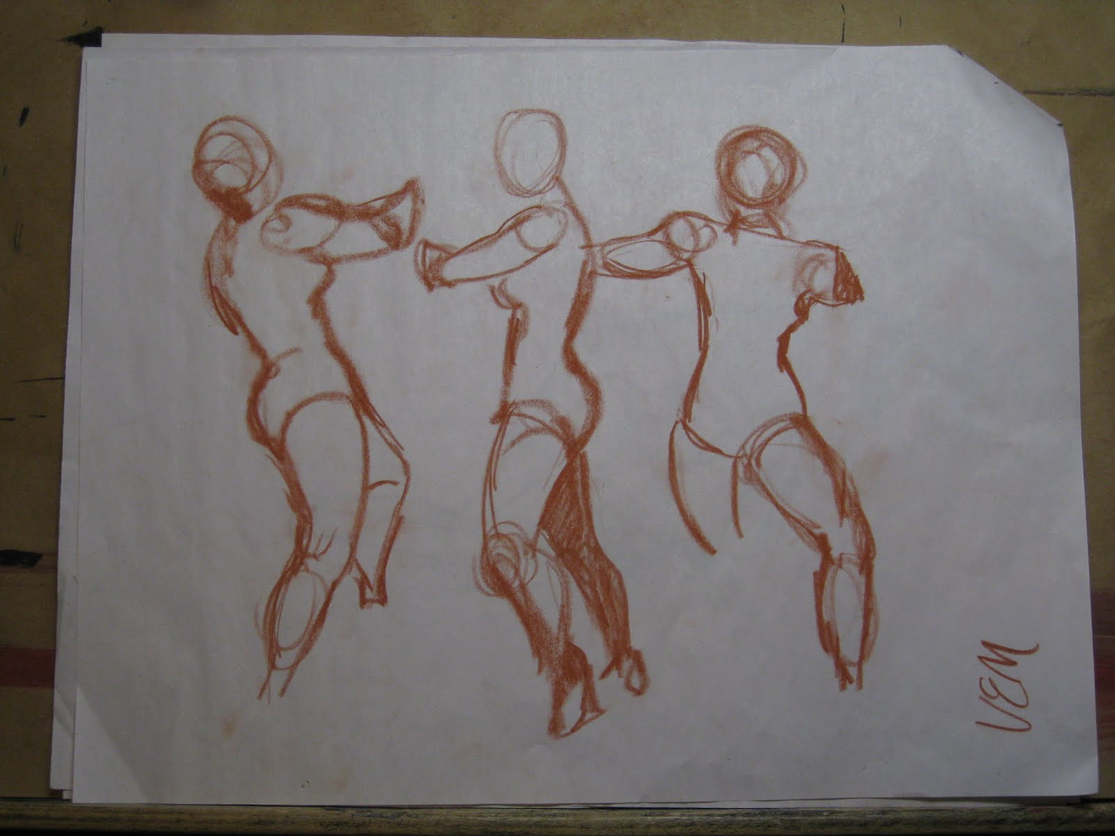 Rick Jacobi Art Blog Figure Drawings By My High School Students