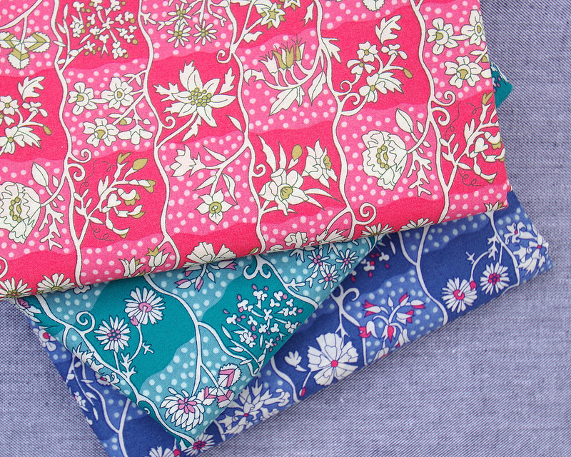 Liberty of London Tana Lawn - A Pocket Full of Memories ~ Gingham Garden | © Red Pepper Quilts 2018