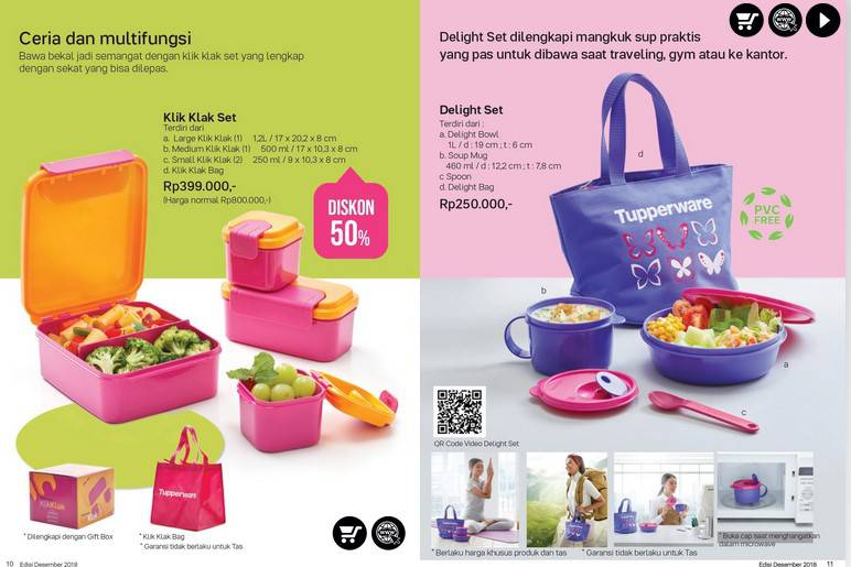Promo September 2019 Tupperware