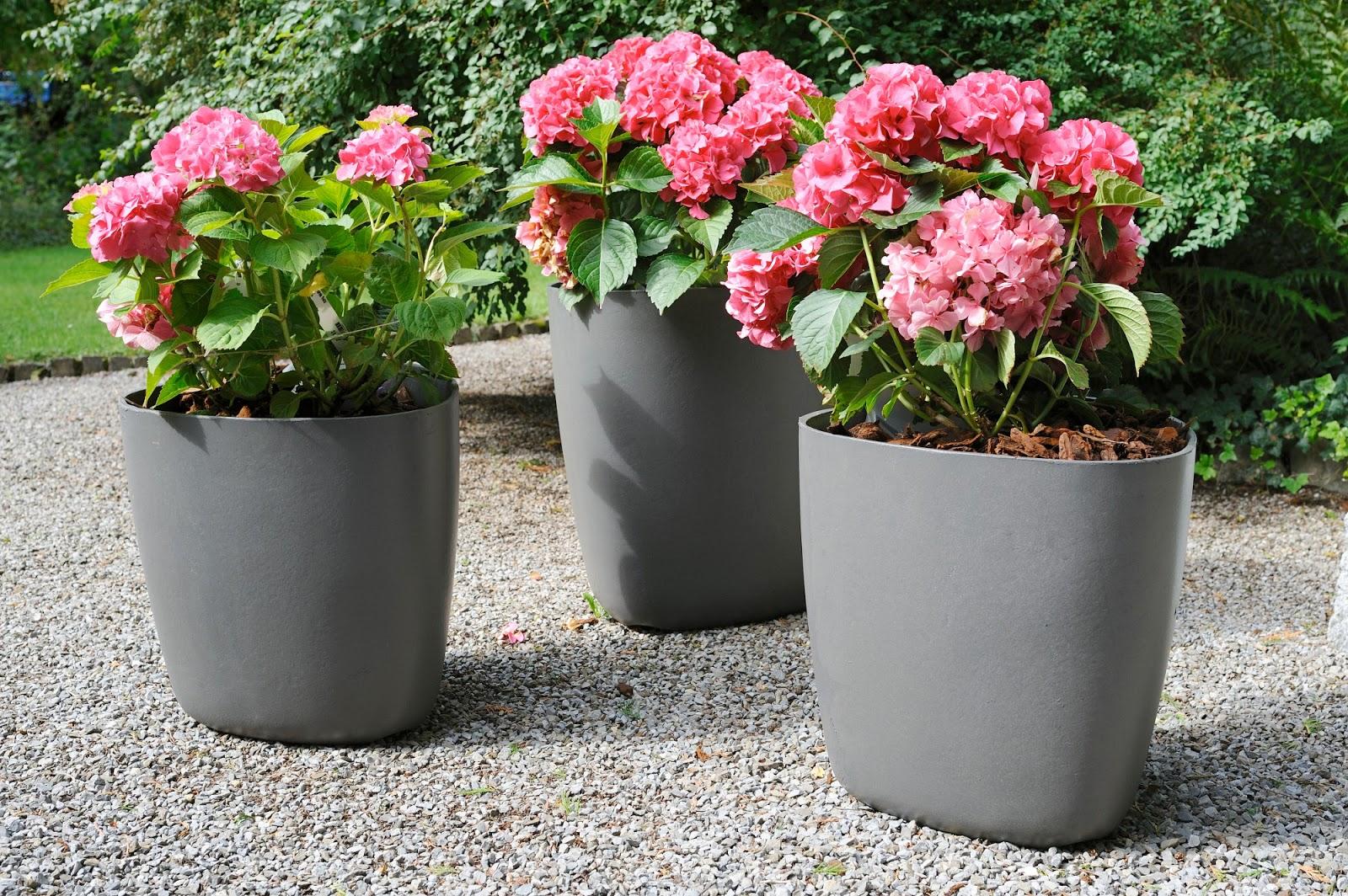 Patio & Garden Planter Pots: Modern Tokyo Planter | modern ...