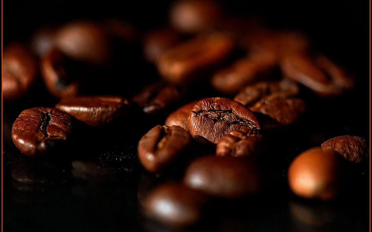 Coffee Beans Widescreen HD Wallpaper 3