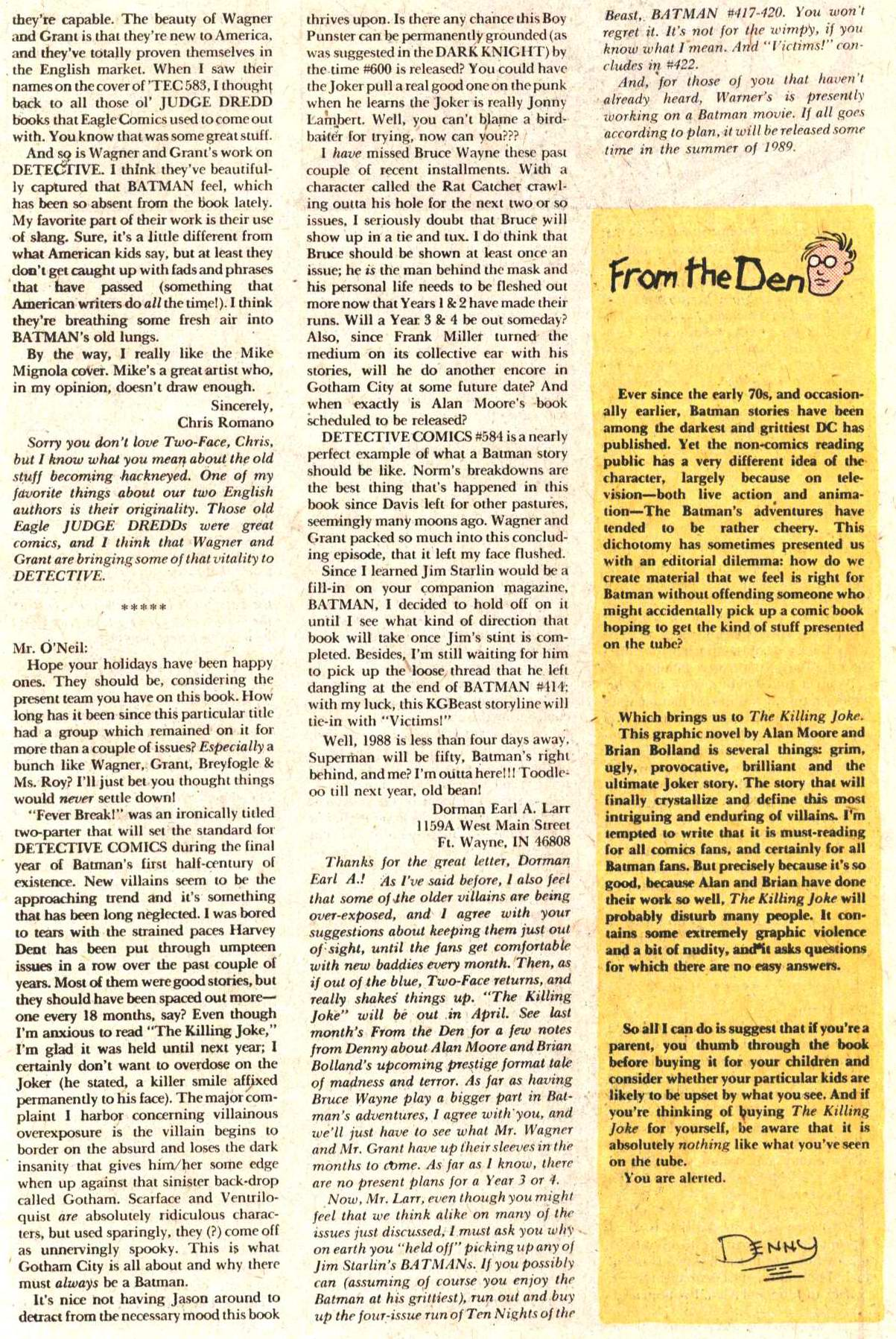 Detective Comics (1937) 587 Page 25