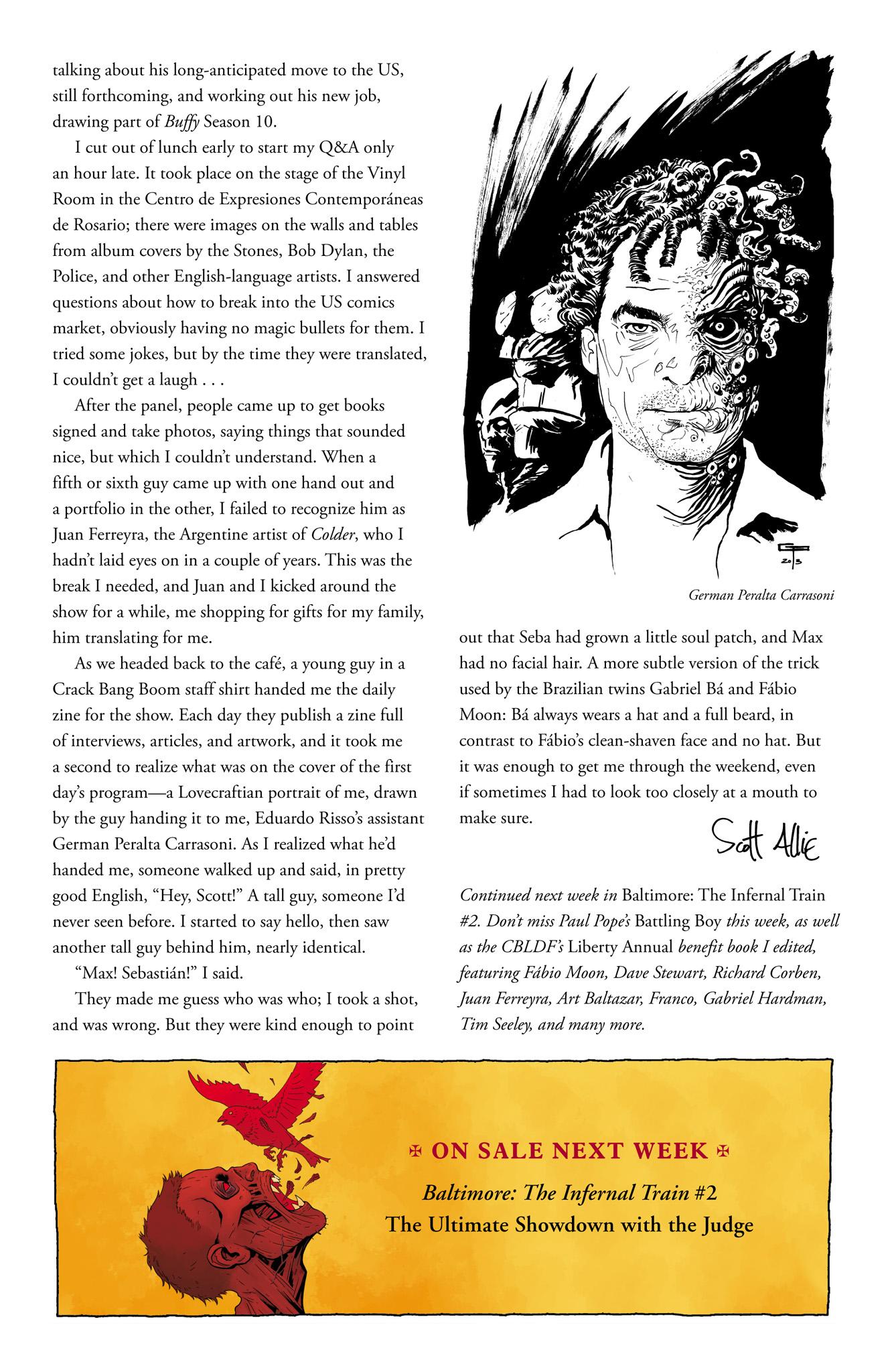 Read online Abe Sapien comic -  Issue #6 - 26