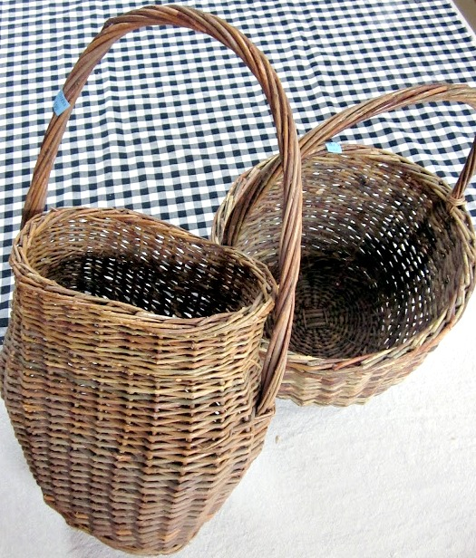 Front Door Baskets: Winter Basket For The Front Door