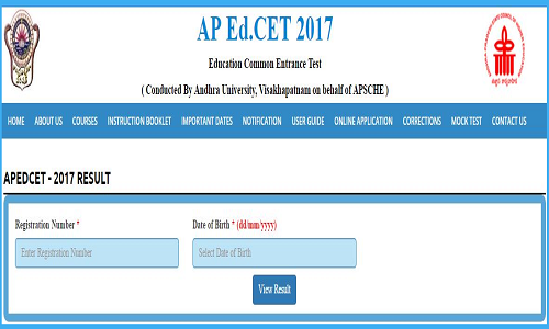 AP Ed.CET 2017 Results