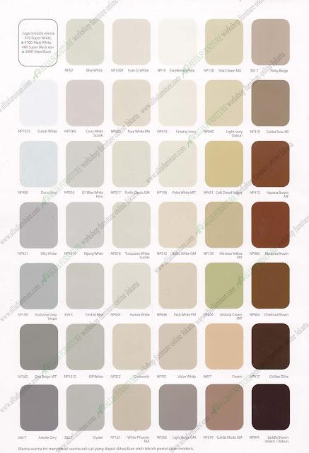 warna cat duco nippon paint katalog 1