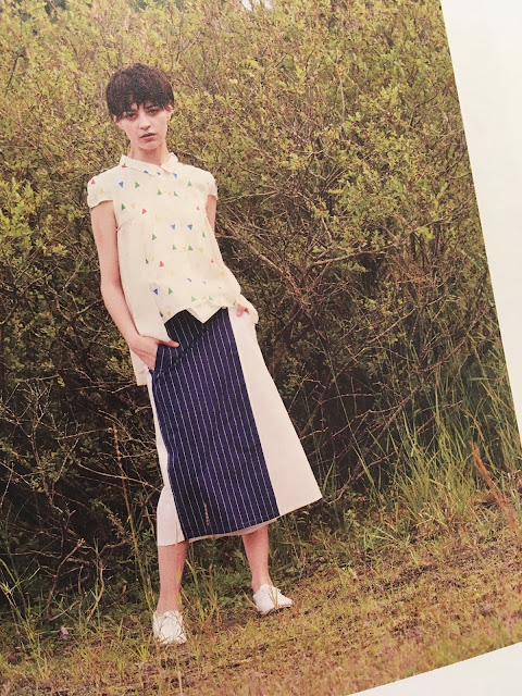 JUN OKAMOTO【ジュンオカモト】眠れる森へ誘うブラウス▲香川・綾川店