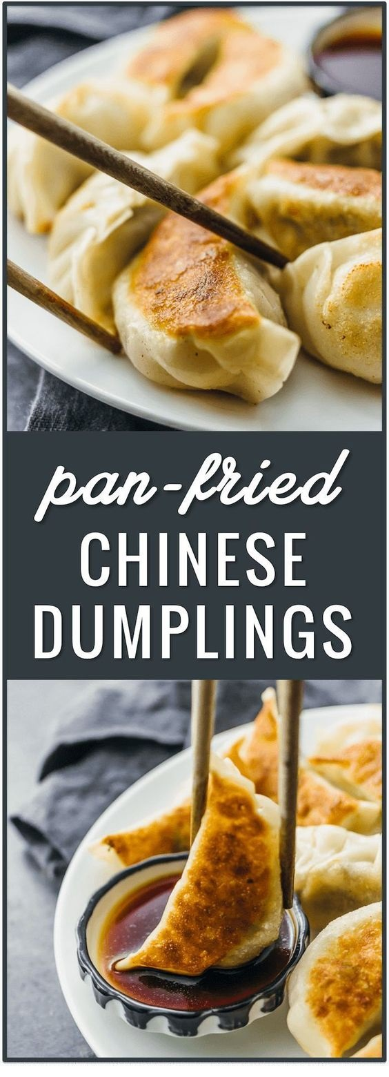 Pan Fried Chinese Dumplings Recipe