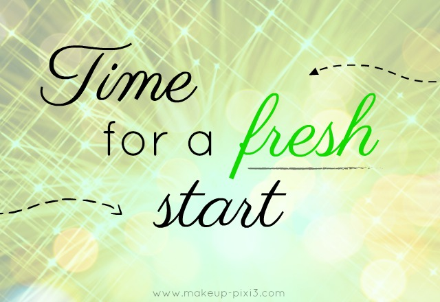 time for a fresh start banner