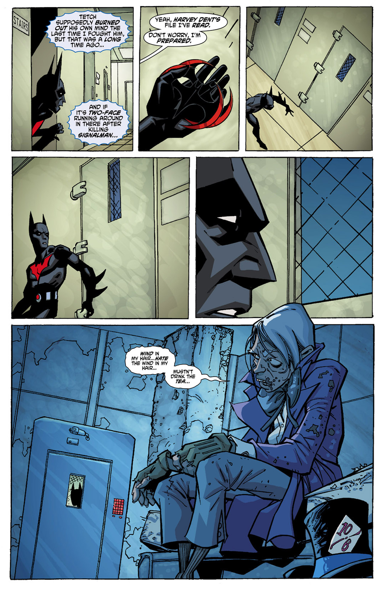 Batman Beyond (2010) Issue #1 #1 - English 21