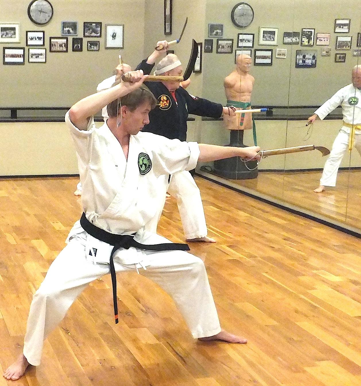 Kama Martial Arts Weapon Kobudo Of Okinawa Arizona A Guide By Soke Hausel Okinawan Kobudo Weapons Training In Mesa Arizona For Martial Artists Gardeners