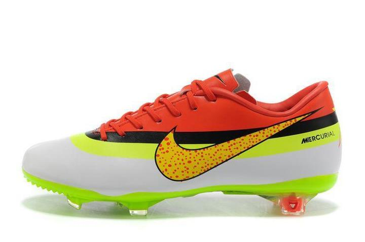 new concept afdf0 155fb Nike Mercurial Vapor VIII CR FG - WhiteYellowBlackRed