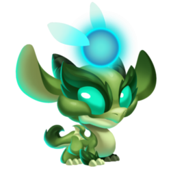Night Forest Dragon (Baby)