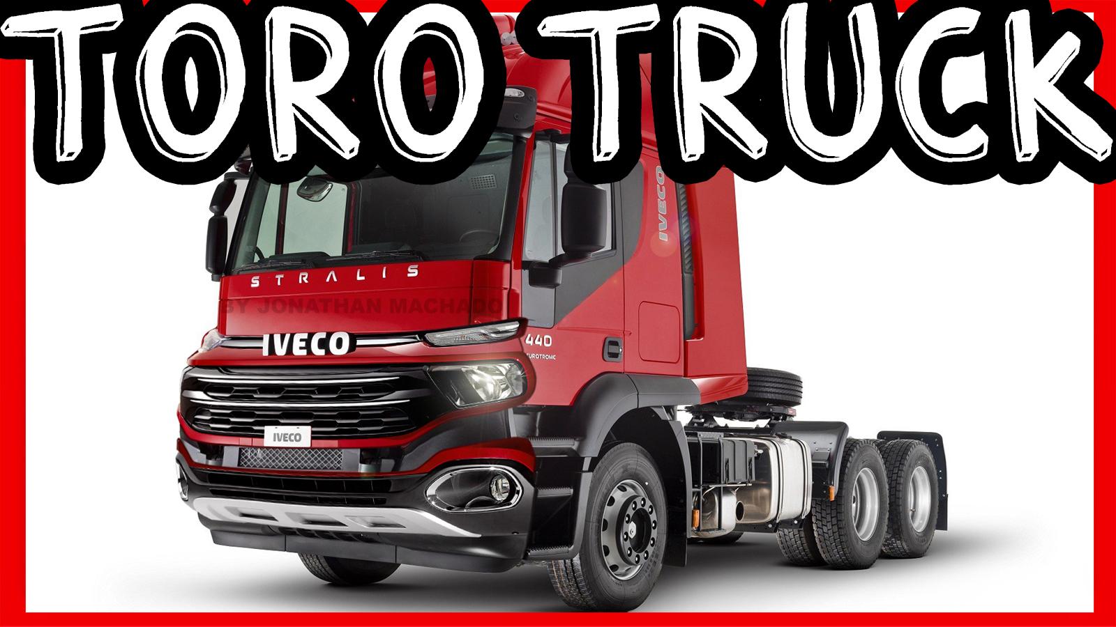 Photoshop Fiat Toro Truck 2020 Iveco Stralis Facelift 600s44t 6 2