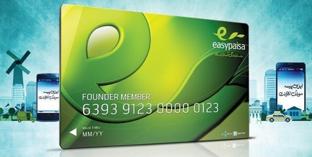 how to get free telenor easypaisa master card in pakistan