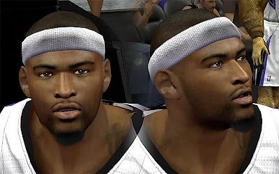NBA 2K13 DeMarcus Cousins Cyberface Patch