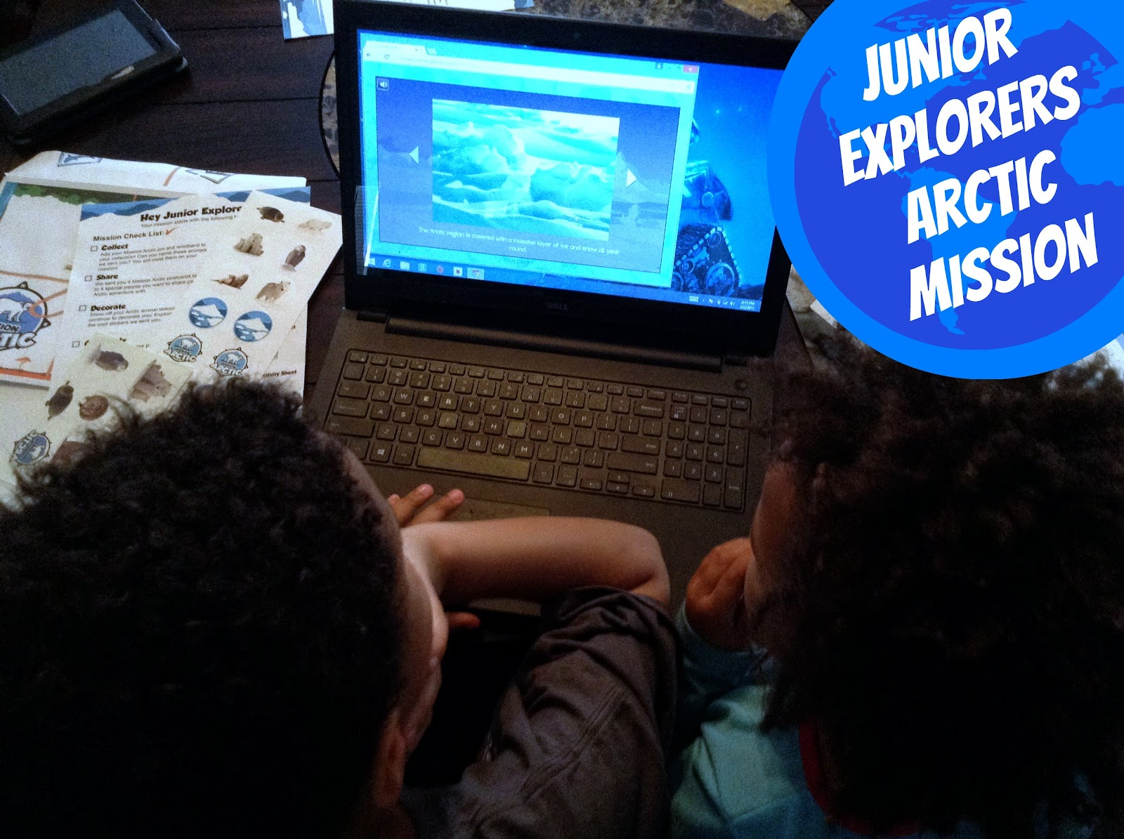Snow Day Fun with @JuniorExplorers and the Arctic Mission
