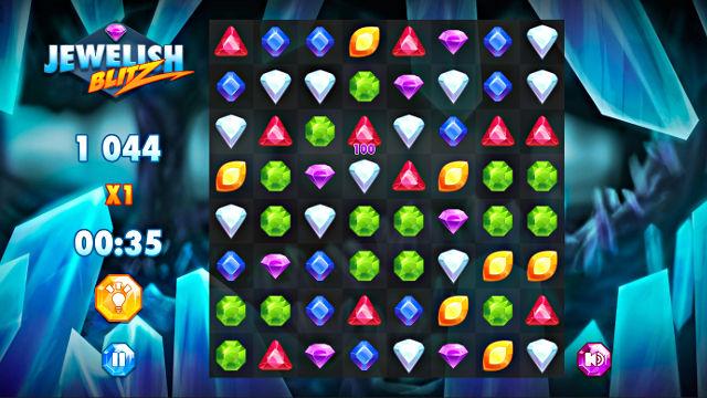 Jewelish Blitz - Image du Jeu