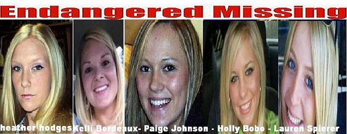 Who Kidnapped Pettite Blondes Heather Hodges, Kelli Bordeaux, Paige Johnson, Holly Bobo and Lauren Spierer Is This Ted Bundy Deja Vu All Over Again?
