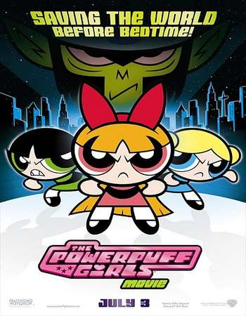 Poster Of The Powerpuff Girls Movie 2002 Hindi Dual Audio 100MB HDTV HEVC Mobile Free Download Watch Online downloadhub.net