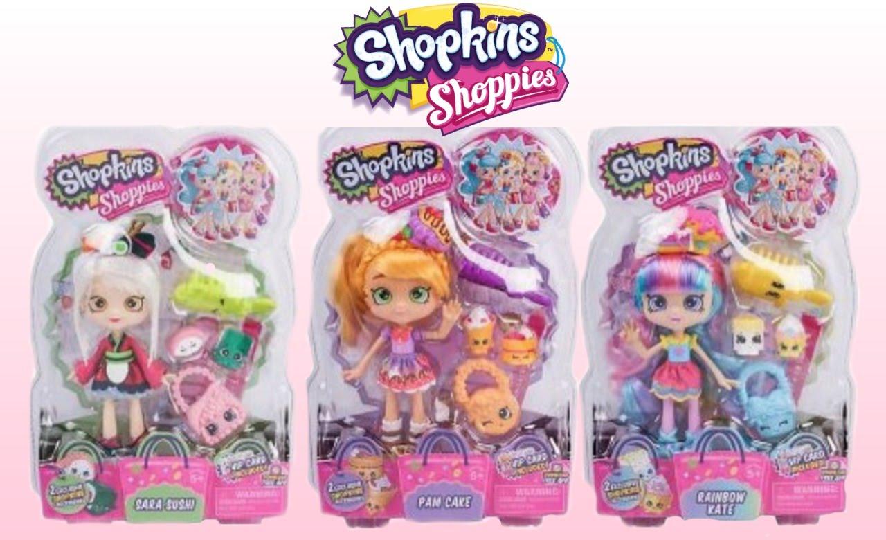 shopkin world shopkins shoppie doll 8 pam cake