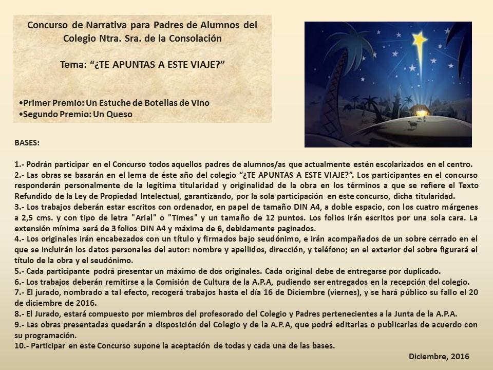 Agustinas-Valladolid-APA-Concurso-Narraciones-Navidad-2016