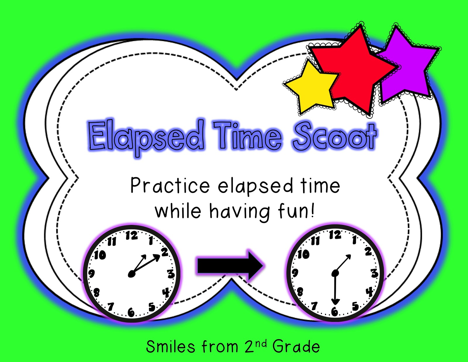 Smiles From Second Grade Telling Time Flash Freebie And Proofreaders Wanted