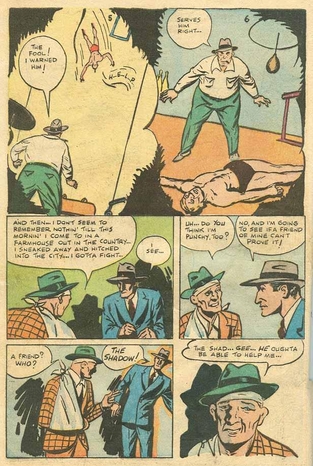 Read online Shadow Comics comic -  Issue #79 - 5