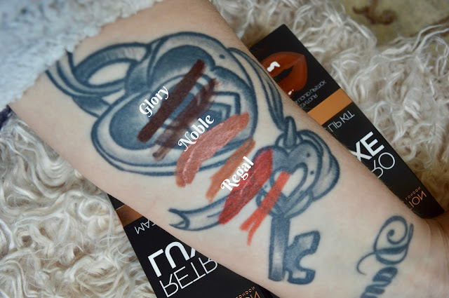makeup revolution retro luxe lip kits swatches