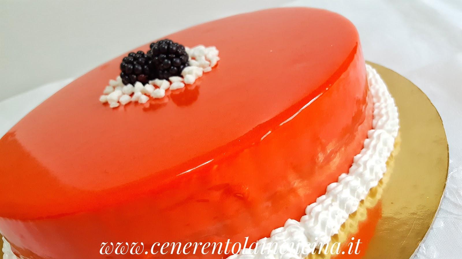 Conosciuto Cenerentola in Cucina: Torta con mousse al cioccolato bianco e  LI43