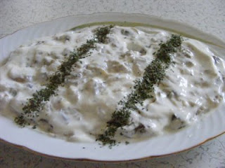 Roasted Eggplant with Yogurt (Yogurtlu Kozlenmis Patlican)