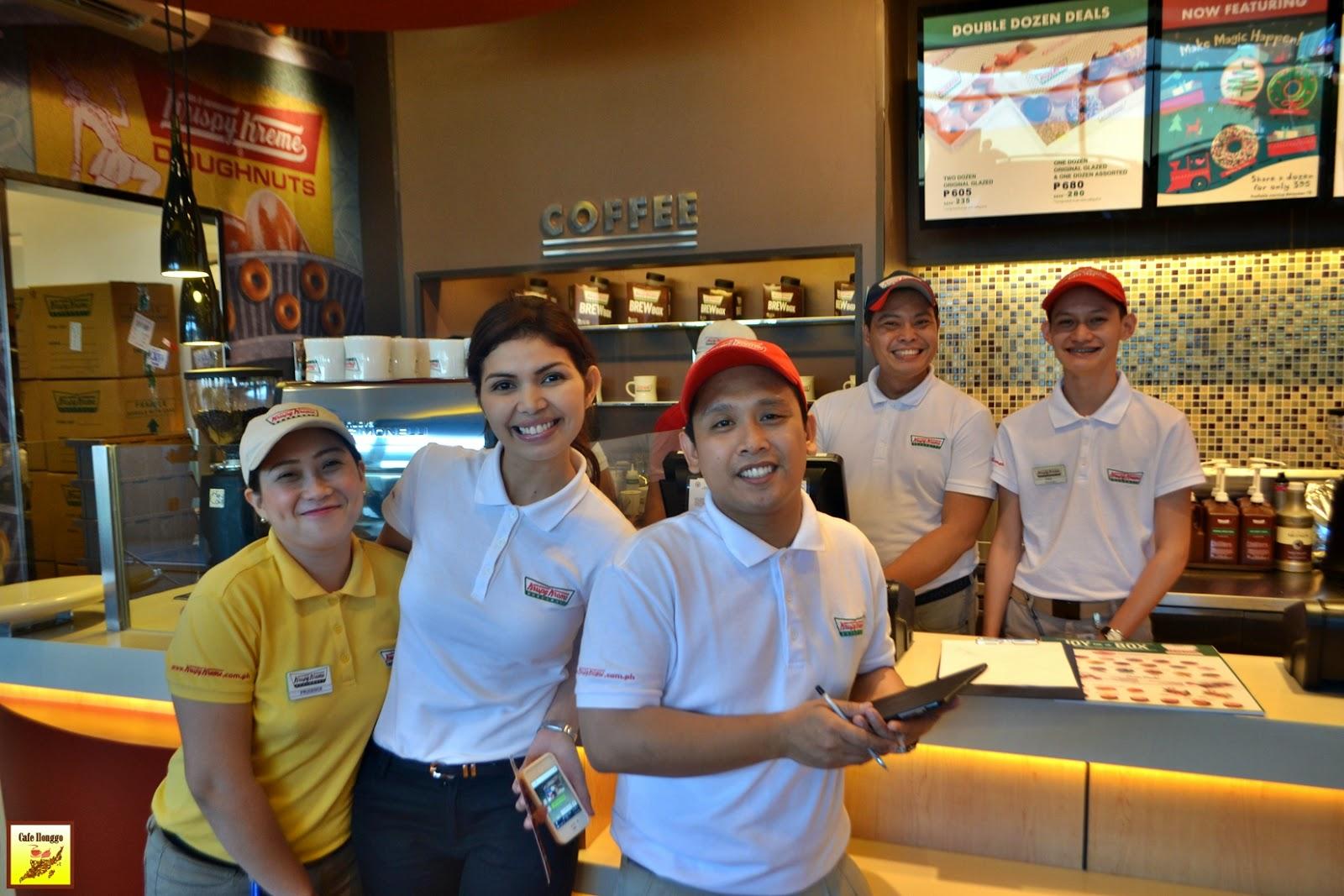Krispy Kreme Iloilo City SM Cafe Ilonggo Queen B