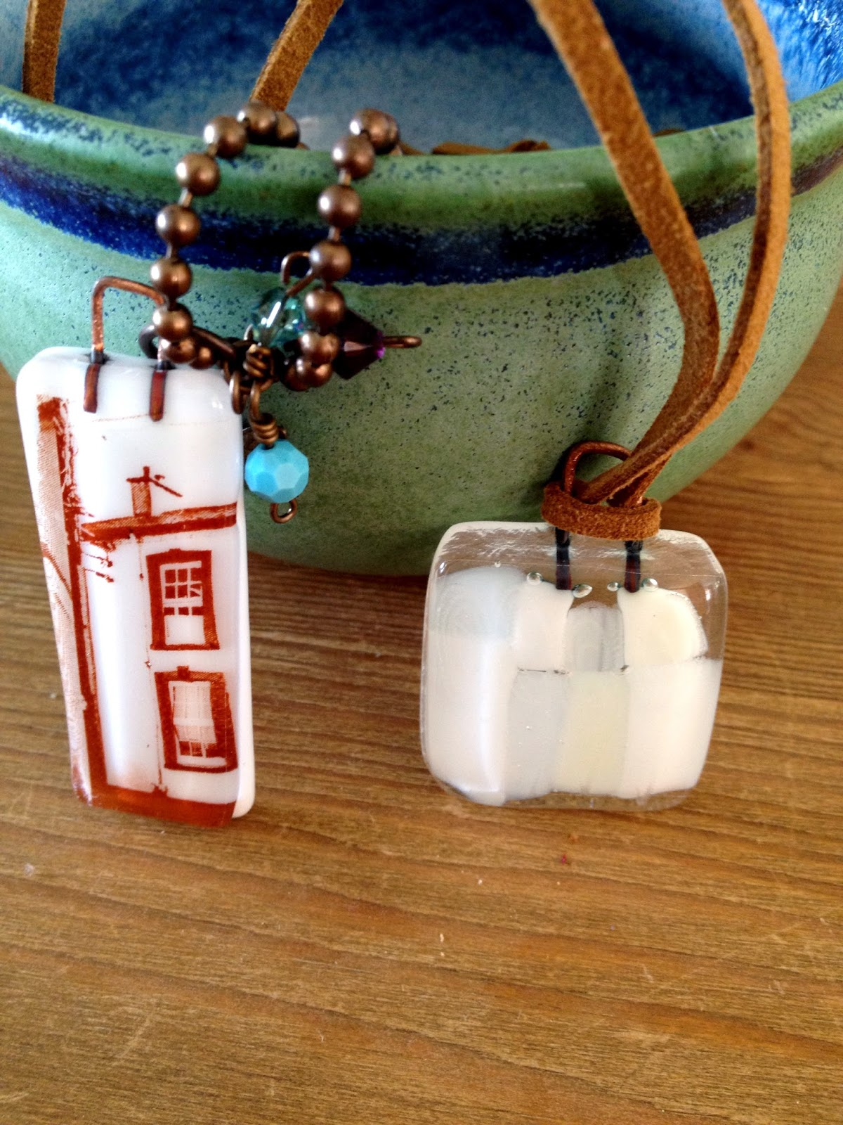 McGonigle Glass Necklace