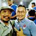 Relawan #2019 Ganti Presiden Nonton Bareng di Makassar