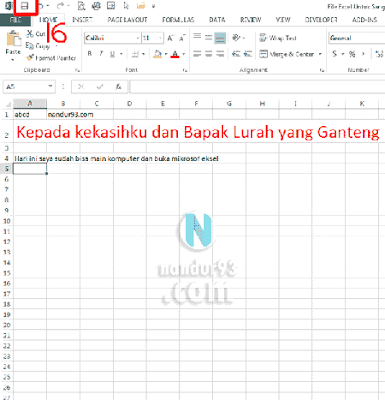 Microsoft Excel Bagi Pemula Open Nandur93