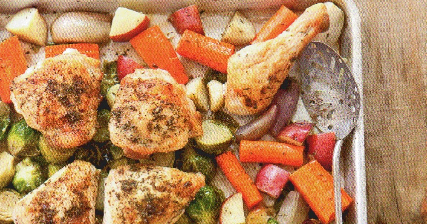 Becoming Betty Pan Roasted Chicken With Root Veggies