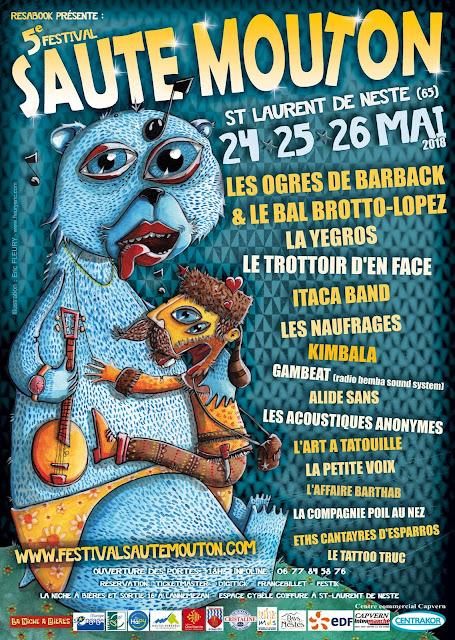 Festival Saute Mouton Saint Laurent de Neste 2018