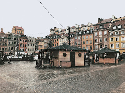 warsaw old town market square