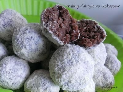 Zdrowe fit słodycze z daktyli