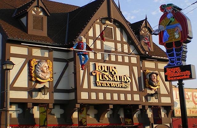Louis Tussaud's Waxworks em Niagara Falls
