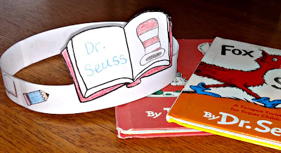 Author Study Hat for Dr. Seuss Week | Apples to Applique