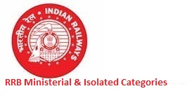 RRB Ministerial & Isolated Categories Recruitment 2019 | Ministerial and Isolated Categories Vacancy 2019