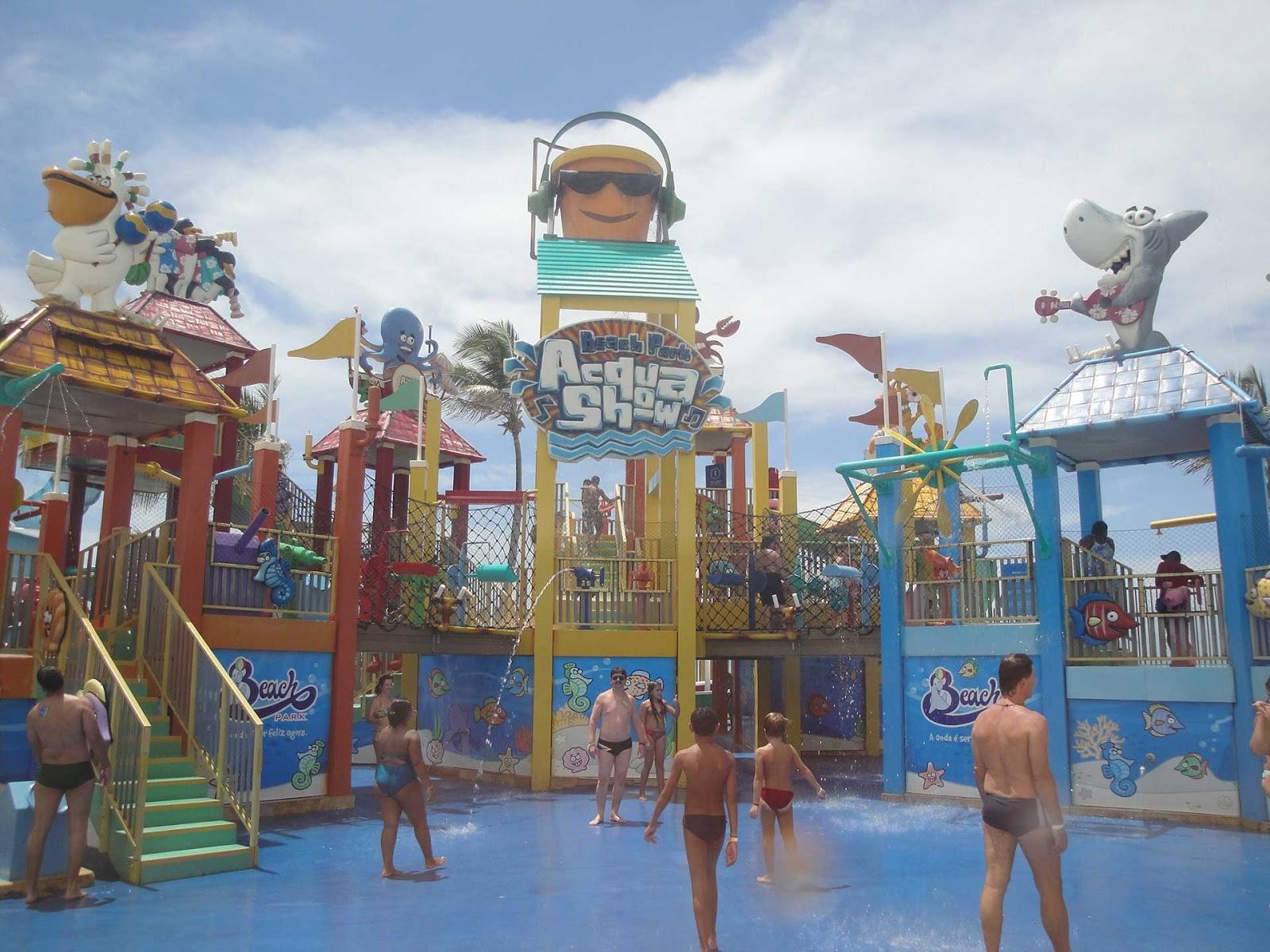 Atrações pra crianças no Beach park
