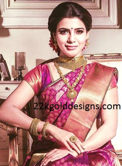 Samantha in Khazana Jewellery Ad