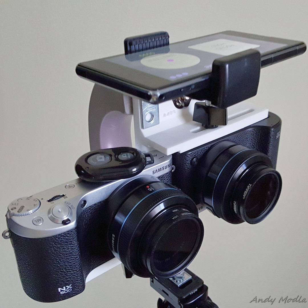 Andy Modla Photography: Twin NX500 Camera 3D Stereo Rig