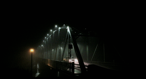 Finlay Bridge Medicine Hat Fog