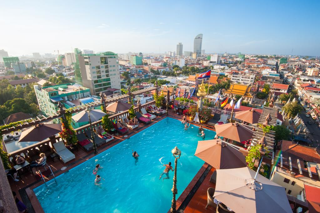 Top 10 the best hotels in phnom penh cambodia trycambodia for Best boutique hotels phnom penh